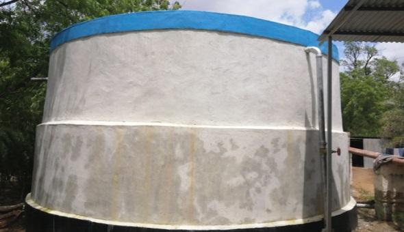 New 100k Litre Water Tank